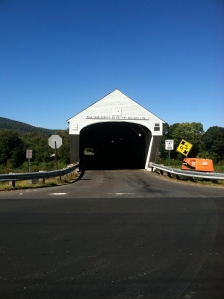 This is the covered bridge between Cornish & Windsor. Remember to walk your horse!